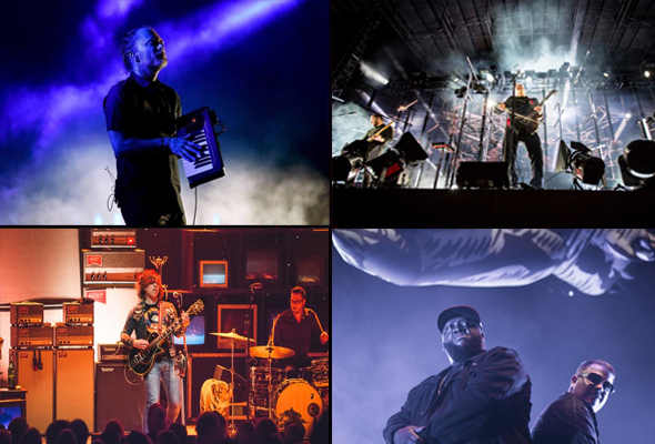 Best live shows of 2017 - Radiohead, Sigur Rós, Ryan Adams & Run the Jewels