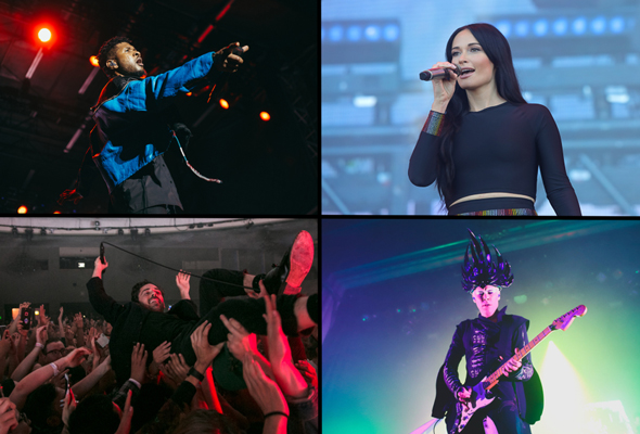 Best live shows of 2019 - Usher, Kacey Musgraves, Local Natives & Empire of the Sun