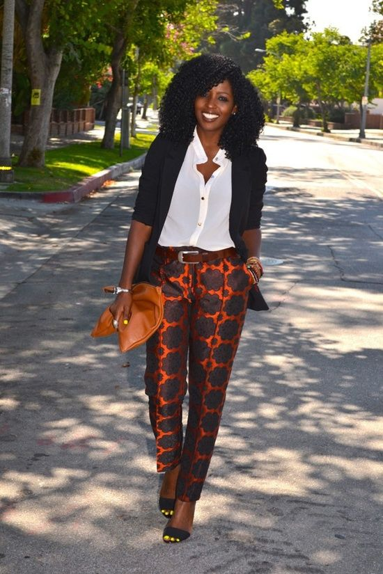 Image result for nigerian woman wearing pants