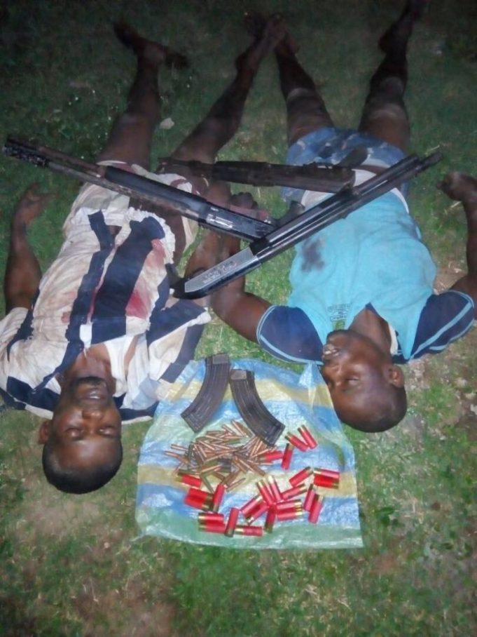 Police kill two armed robbery suspects in Anambra - Orient