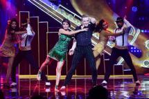 Contestants - Aashka & Brent performance