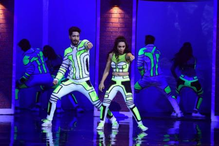 Sanam and Abigail performance