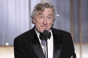 De Niro's Globes speech: racist or dark comedy?