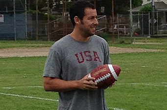 First set pics of Adam Sandler in 'Grown Ups 2'!