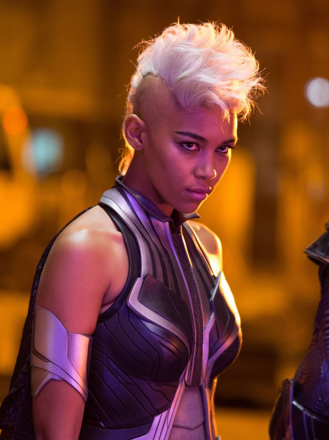 Alexandra Shipp as Ororo Munroe / Storm in X-MEN: APOCALYPSE.