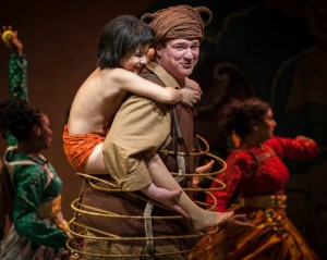 akash-chopra-mowgli-and-kevin-carolan-baloo-in-tony-award-winner-mary-zimmermans-new-musical-adaption-of-the-ju-ngle-book-at-goodman-theatre