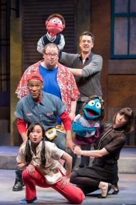 Avenue-Q-Mercury-Theater-Chicago-Jackson-Evans-Sean-Patrick-Fawcett-Donterrio-Johnson-Leah-Morrow-Christine-Bunuan