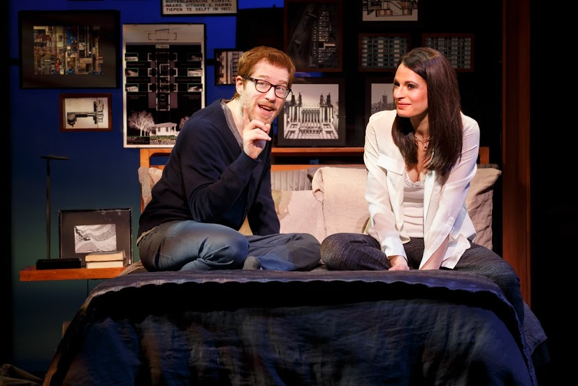 Anthony Rapp & Jackie Burns in IF THEN - Photo by Joan Marcus