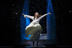 Christine Dwyer as Sylvia Llewelyn Davies in the National Production of Finding Neverland Credit Carol Rosegg