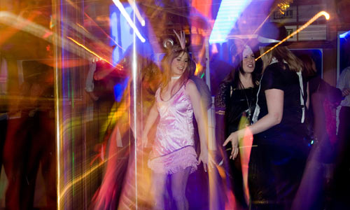 Dancing the night away Brisbane Cruises