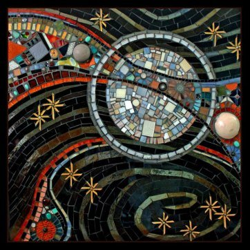 Custom Commissioned Public Art Mosaic Murals For Hospitals, Healthcare & Medical. Everett, WA