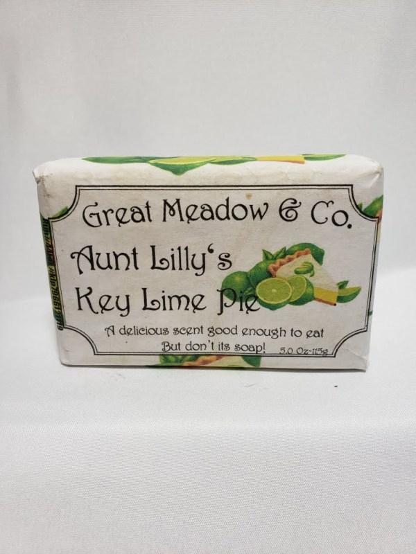 Aunt Lillys Key Lime Pie Soap