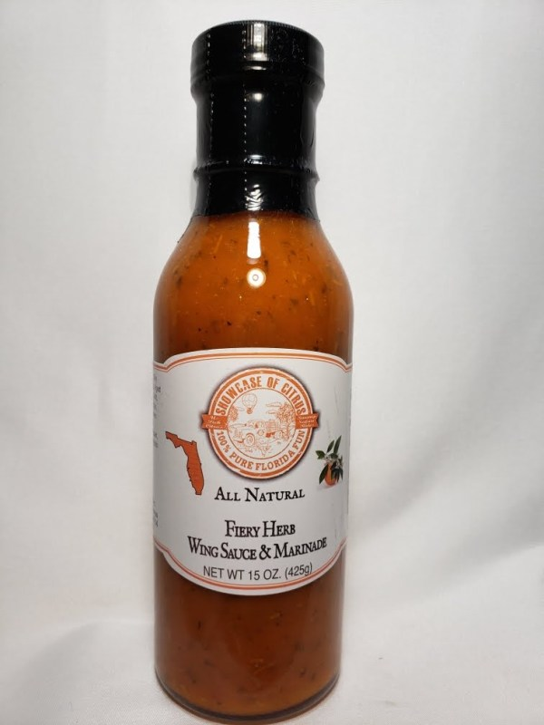 Fiery Herb Wing Sauce and Marinade