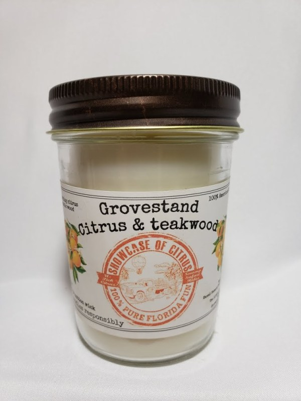 Grovestand Citrus and Teakwood Candle