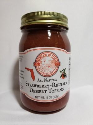 Strawberry Rhubarb Dessert Topping