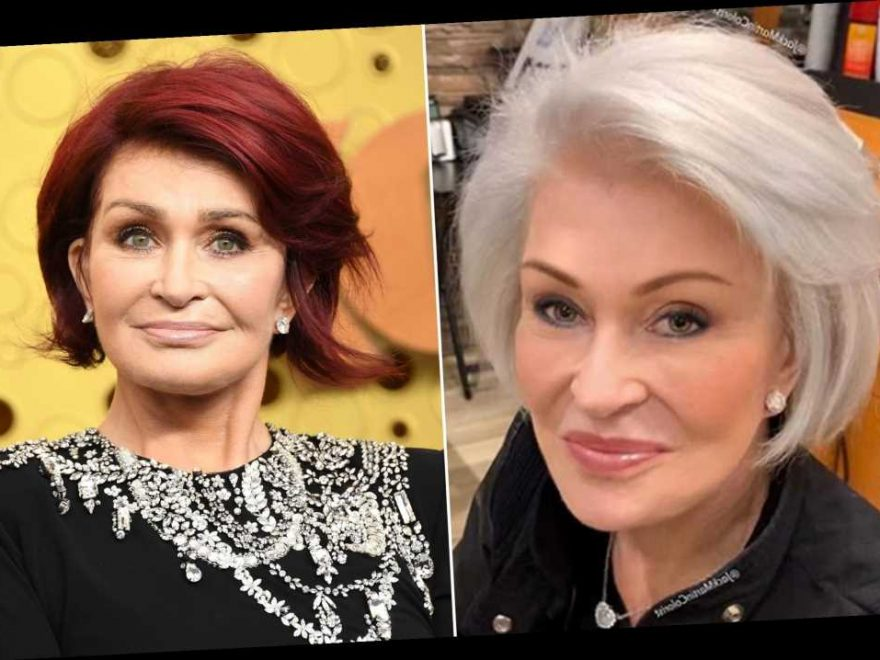 Sharon Osbourne Shows Off Dramatic White Gray Hair Color Transformation Showcelnews Com