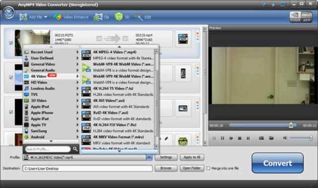 AnyMP4 Video Converter Ultimate 8.2.6 Crack + Activation Key 2021 Free Download