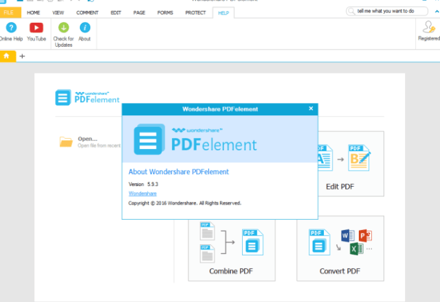 Wondershare PDFelement 8.2.13.984 Crack + Serial Key Free