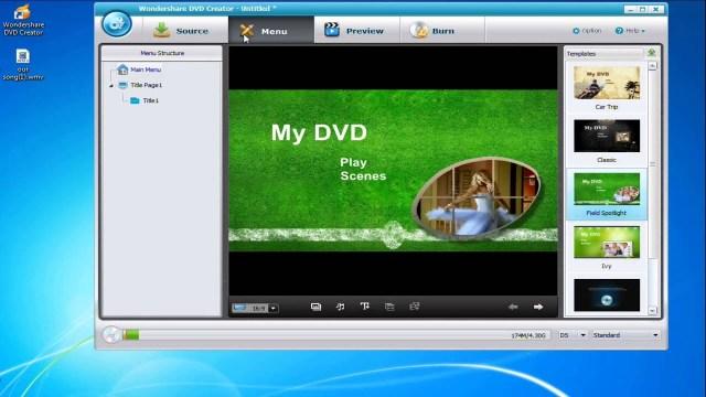 Wondershare DVD Creator 6.6.1 Crack + License Key Free