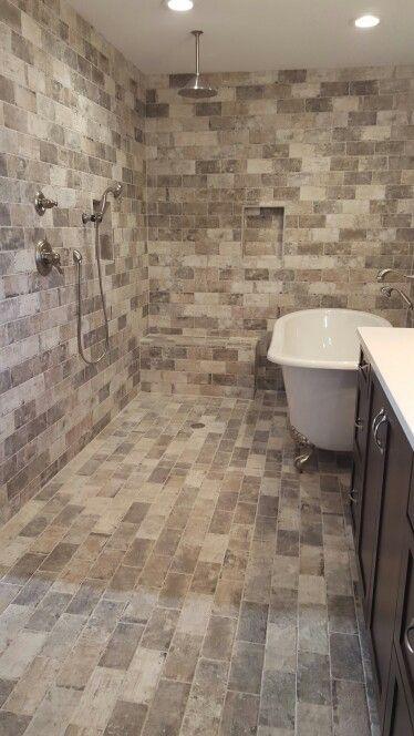 walk in shower and claw foot tub maax versailles bathtub new york soho tile 2019 shower diy