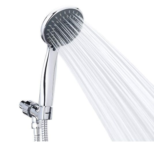 Handheld 5 Spray Settings Shower Head with High Pressure