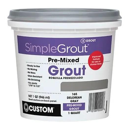 Custom PMG381QT 1-Quart Simple Premium Grout