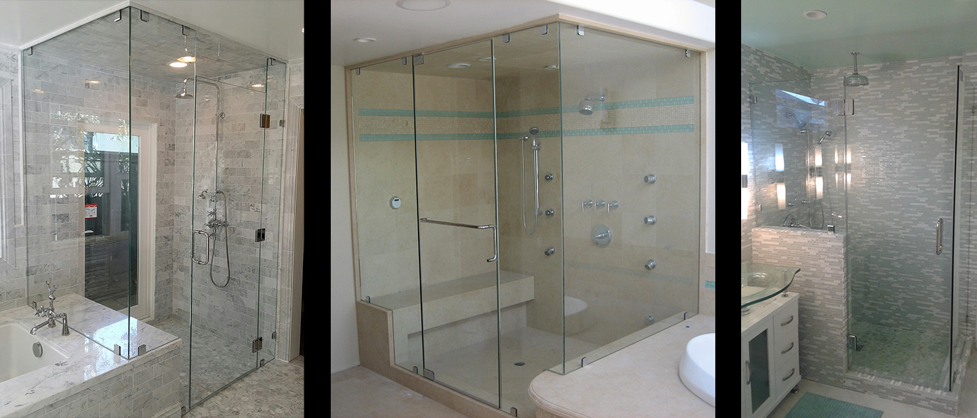 Custom Frameless Glass Shower Doors By A Glass Company