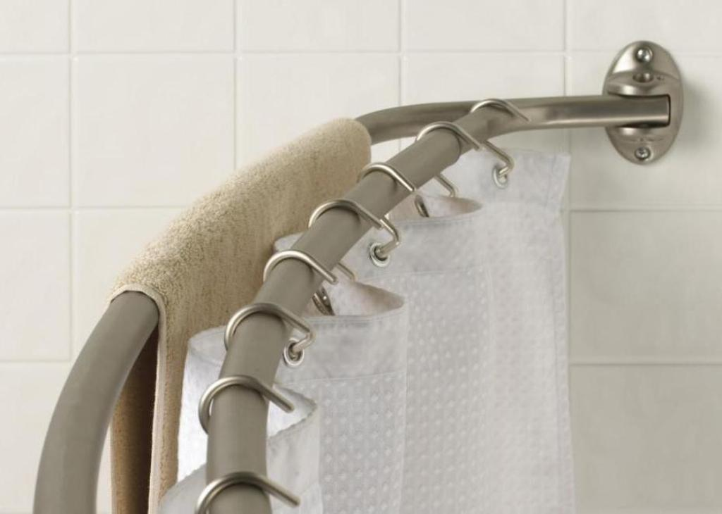 Home Garden Tension Shower Doorway, How To Put Up Tension Shower Curtain Rod