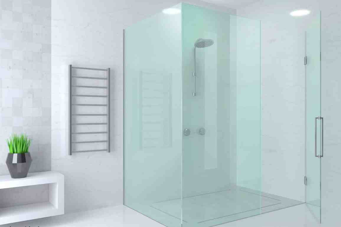 How to Install a Fixed-glass Shower Panel