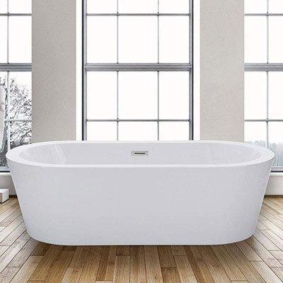 Woodbridge 67″ Acrylic Freestanding Bathtub Soaking Tub
