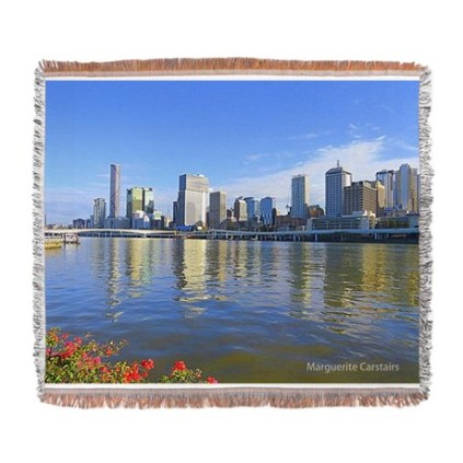 brisbane_water_view_woven_blanket