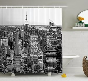 Shower Curtain - Black