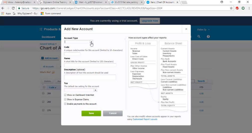 ACCTXER5120702 Xero Training - Learn to Add New Accounts