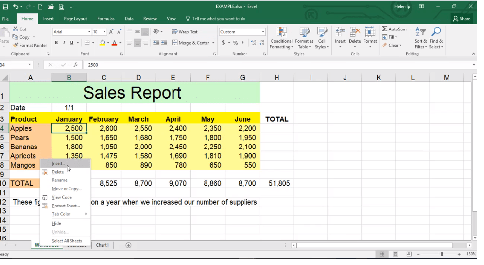 ADMNEXC301106 Excel Training - How to Work with Sheets in Excel