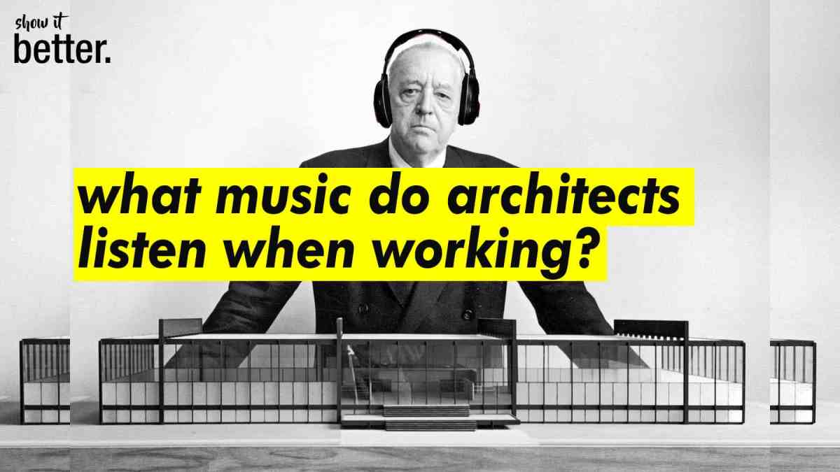 What are Architects Listening to when working all night? Playlist
