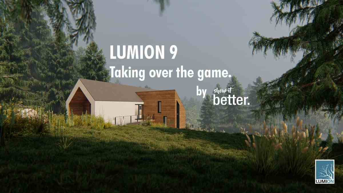 Lumion 9 Creating an Image
