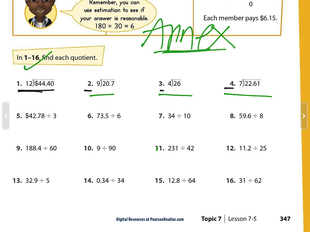 How Do You Divide Decimals With Whole Numbers