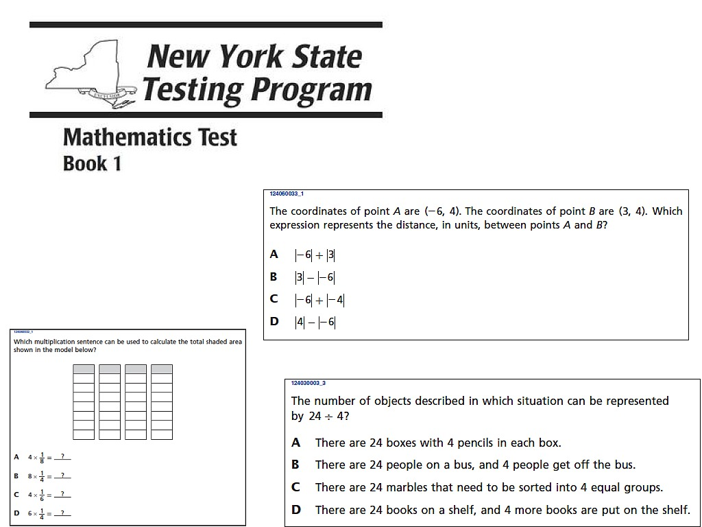 Nys 7th Grade State Test Review