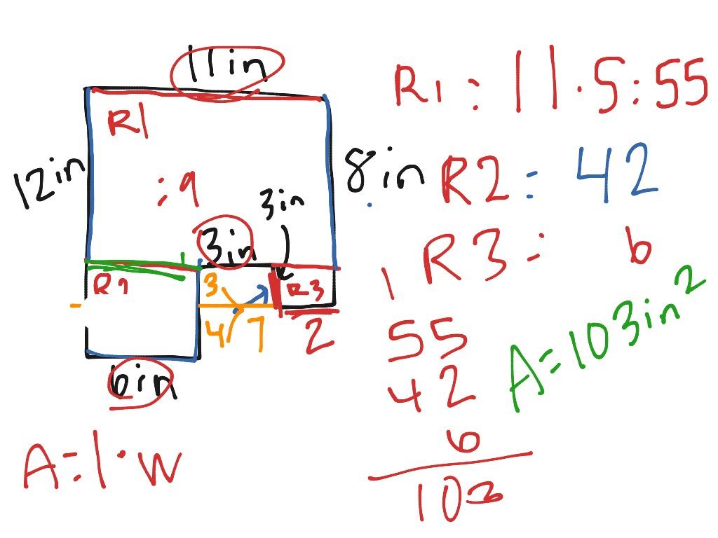 Area Of Irregular Figures 1
