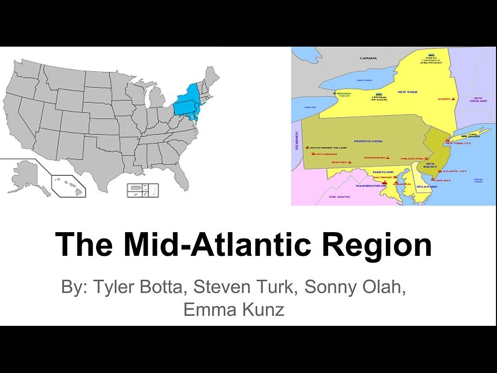 Mid Atlantic Region Power Point