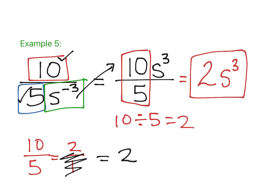 7 1 Zero And Negative Exponents Part 2