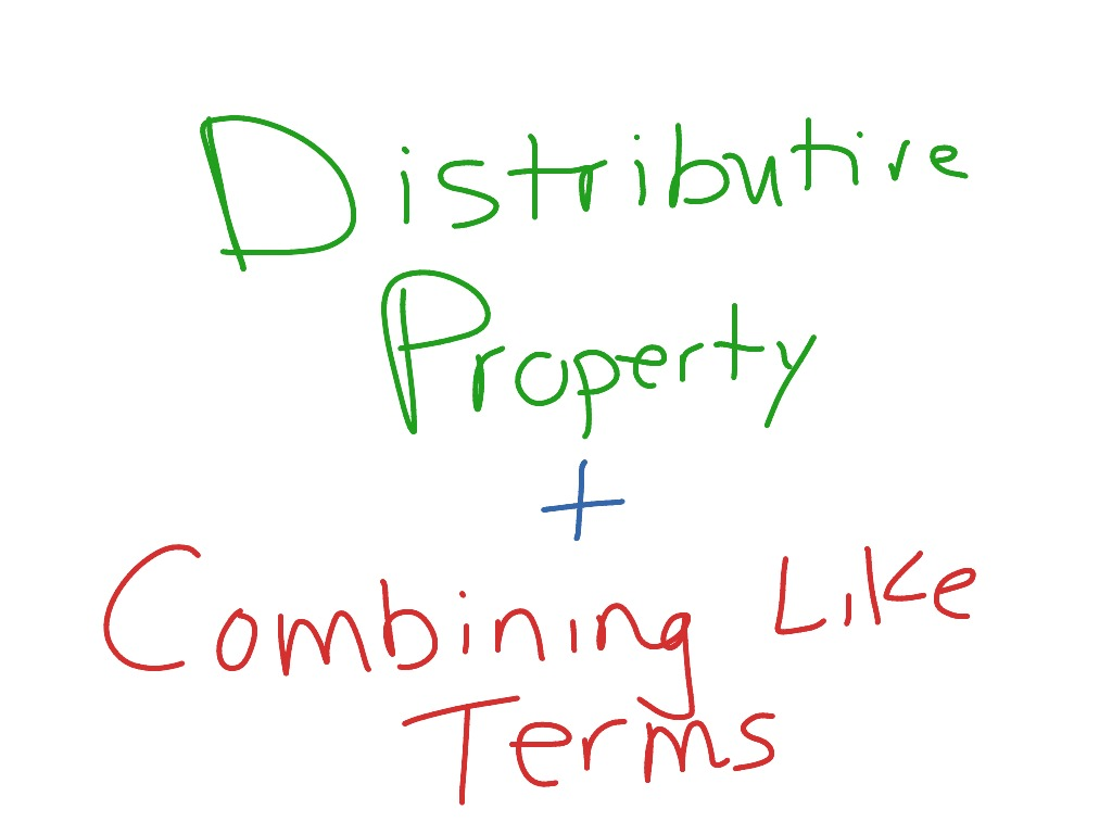 Thaspeedhoe Blog Archive Distributive Property