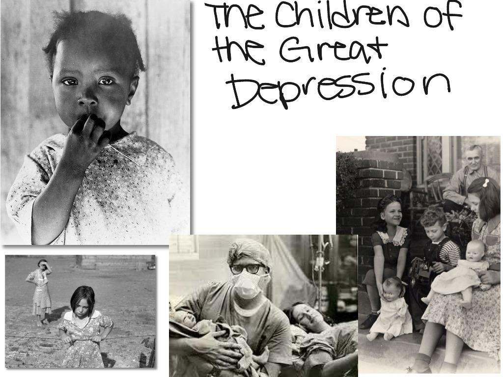 American History Great Depression