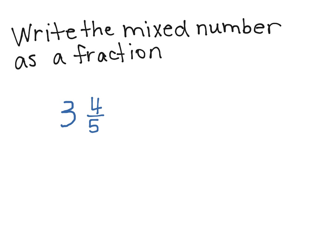 Lesson 7 6 Rename Fractions And Mixed Numbers