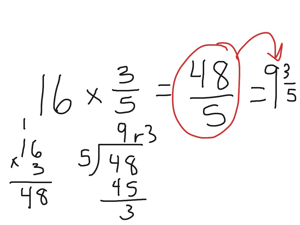 Worksheet How To Multiply Fractions And Whole Numbers