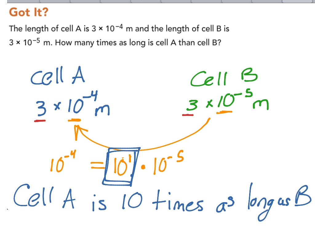 D4 3 Scientific Notation With Small Quantities