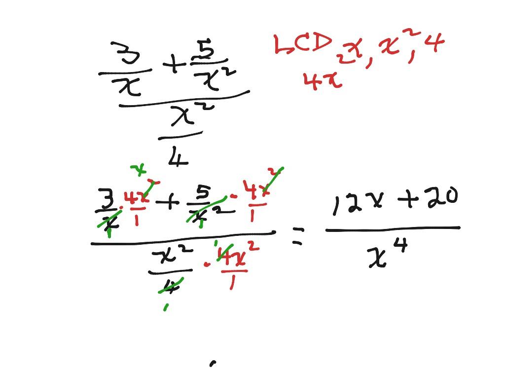 6 3 Complex Fraction Worksheet 2 Class Work