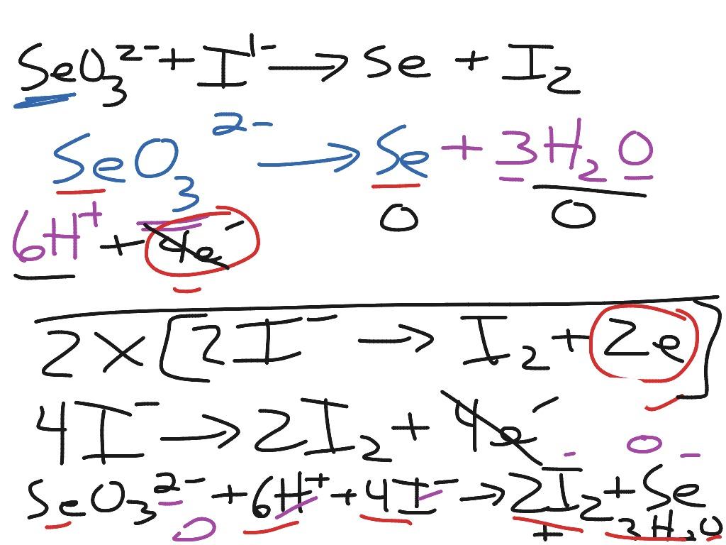 Balance Redox Equations