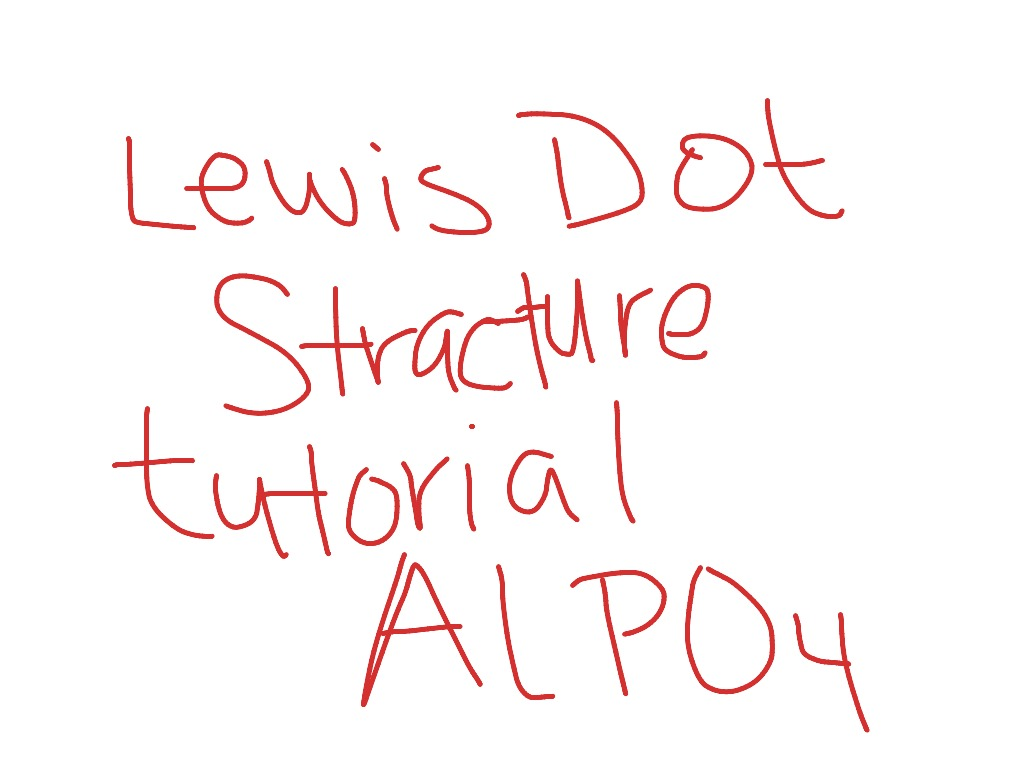 How To Draw A Lewis Dot Diagram For Aluminum