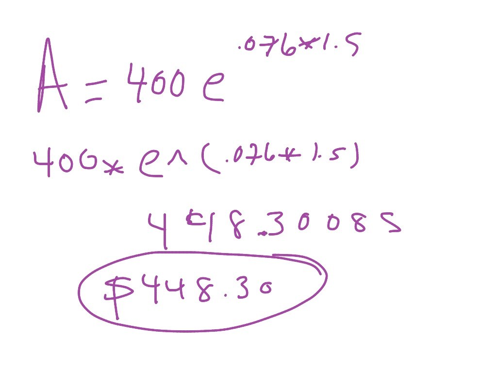7 2 Properties Of Exponential Functions